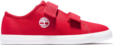 Timberland - Newport Bay Oxford Medium Red Canvas Kid's