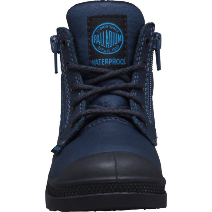 Palladium - Enfants Pampa Hi Cuff Wp 23476-426 Dark Denim