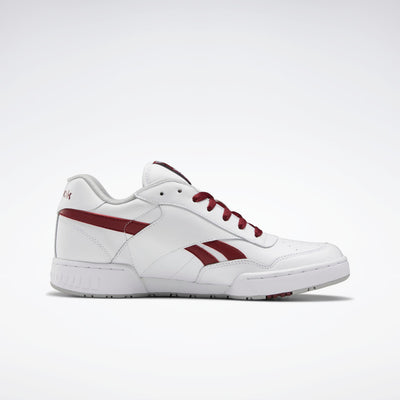 Reebok- Men's BB 4000 White/Red