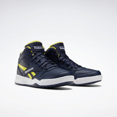 Reebok- kids BB450 Court Navy