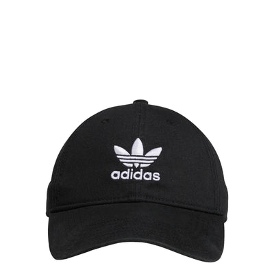 Adidas- Originals Relaxed Strap-Back Hat Black BH7137
