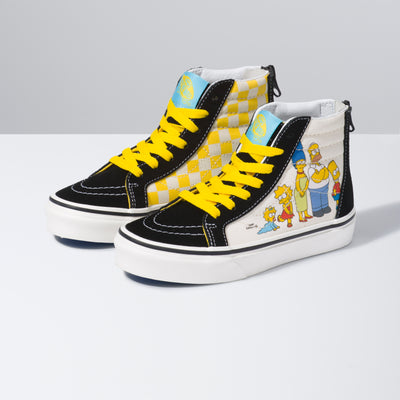 Vans - Kids Sk8-Hi The Simpsons 1987-2020