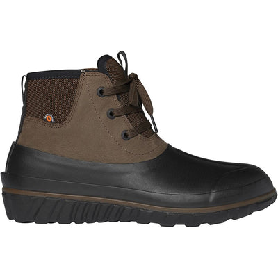 Bogs- Men Casual Lace Dark Browns Winter Boots