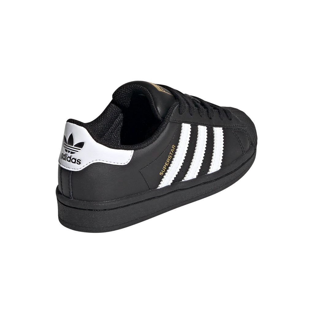 Adidas - Kids Superstar Black