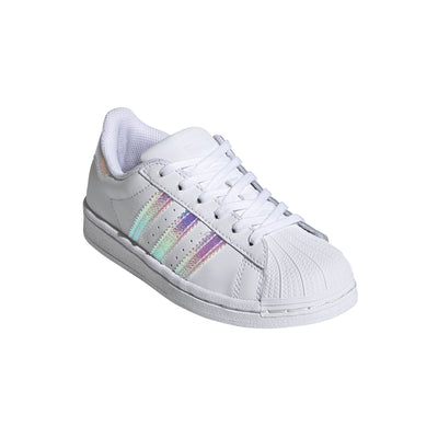 Adidas - Enfants Superstar Blanc