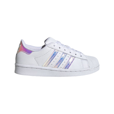 Adidas - Kids Superstar White