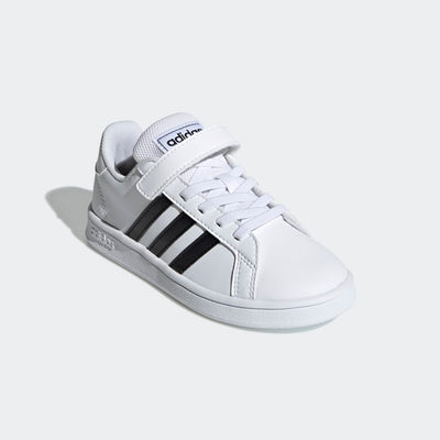 Adidas- Kids Grand Court White