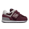 New Balance - 574 Core for Kids in Burgundy