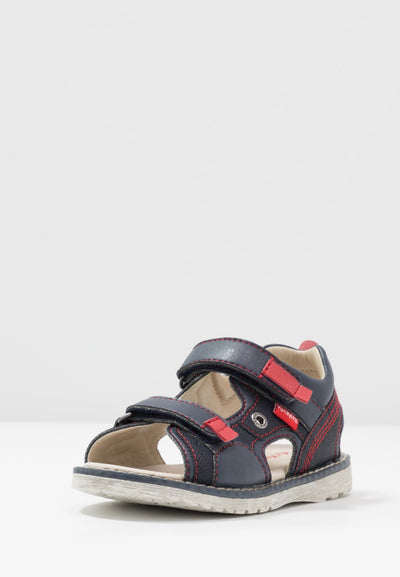 Kickers - Pepper Navy/ Red