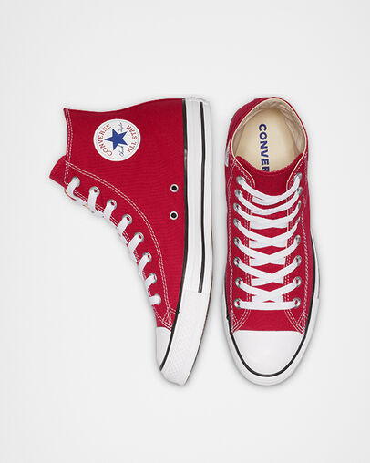 Converse - Chuck Taylor All Star Rouge Haut