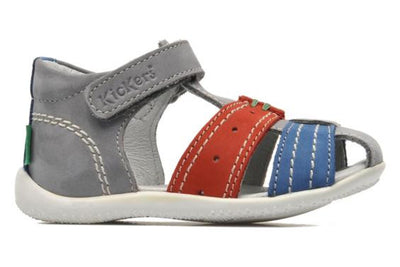 Kickers - Big Bazar Blue/Red - GABRIEL CHAUSSURES