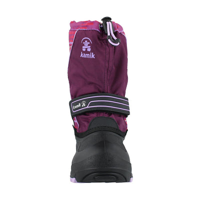 Kamik- Kids Winter Boots Snowcoast Grape Lavender