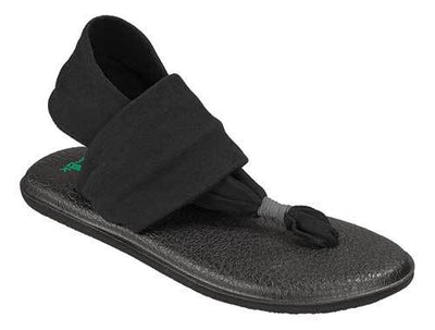 Sanuk - Yoga Sling 2 in Black - GABRIEL CHAUSSURES