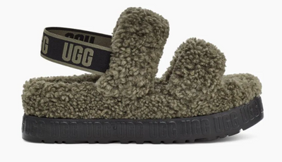 UGG - Mules Oh Fluffita Yeah pour femmes Olive