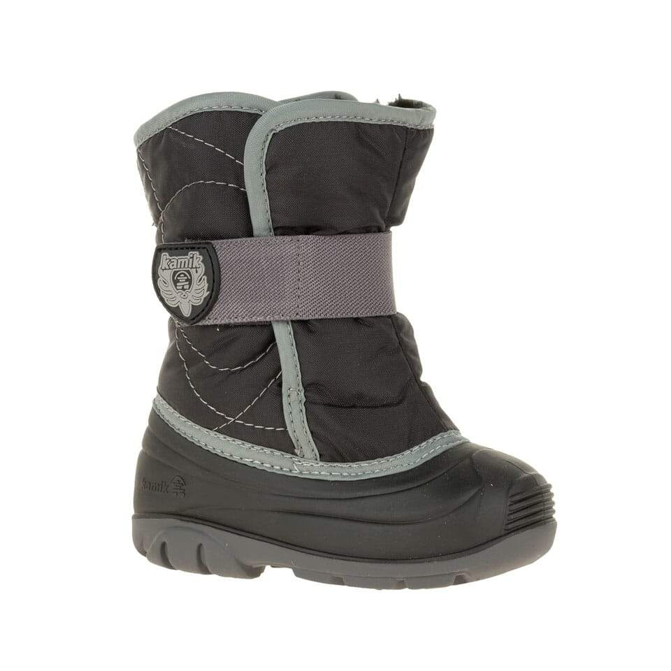 Kamik- Kids Snowbug 3 Black Winter Boots