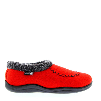 Kamik - Kid's Slippers Cozy Cabin2 Red