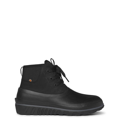 Bogs- Men Casual Lace Black Winter Boots