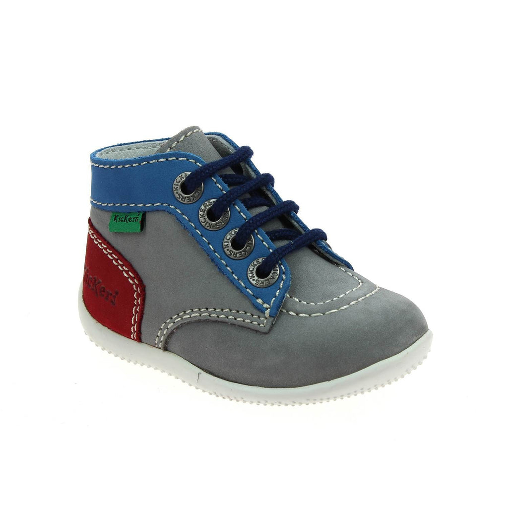 Kickers - Bonbon Blue/Red - GABRIEL CHAUSSURES
