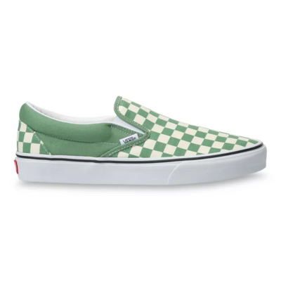 Vans - Classic Slip-On in Checkerboard Shale/White
