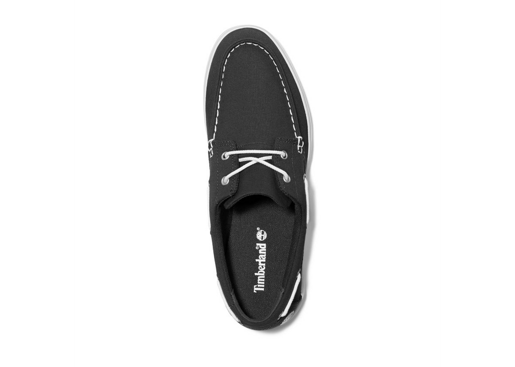 Timberland - Chaussures Homme Union Wharf 2 Eye Boat Noir