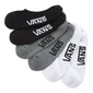 Vans - Classic Super No Show Socks Multi 3 Pack