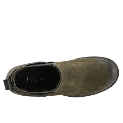 Bueno - Cherish Nubuck Army Green