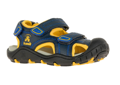 Kamik - Seaturtle2 Kids Navy / Citrus