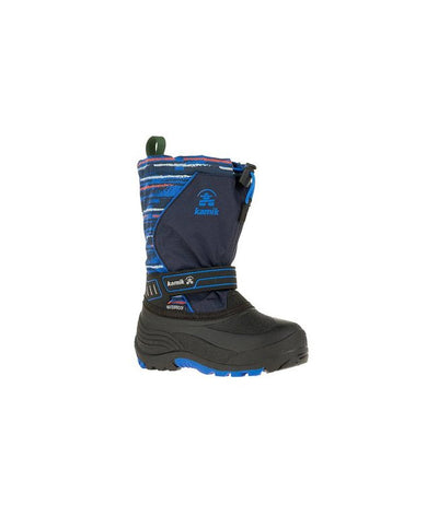 Kamik- Kids Winter Boots Snowcoast Navy Blue