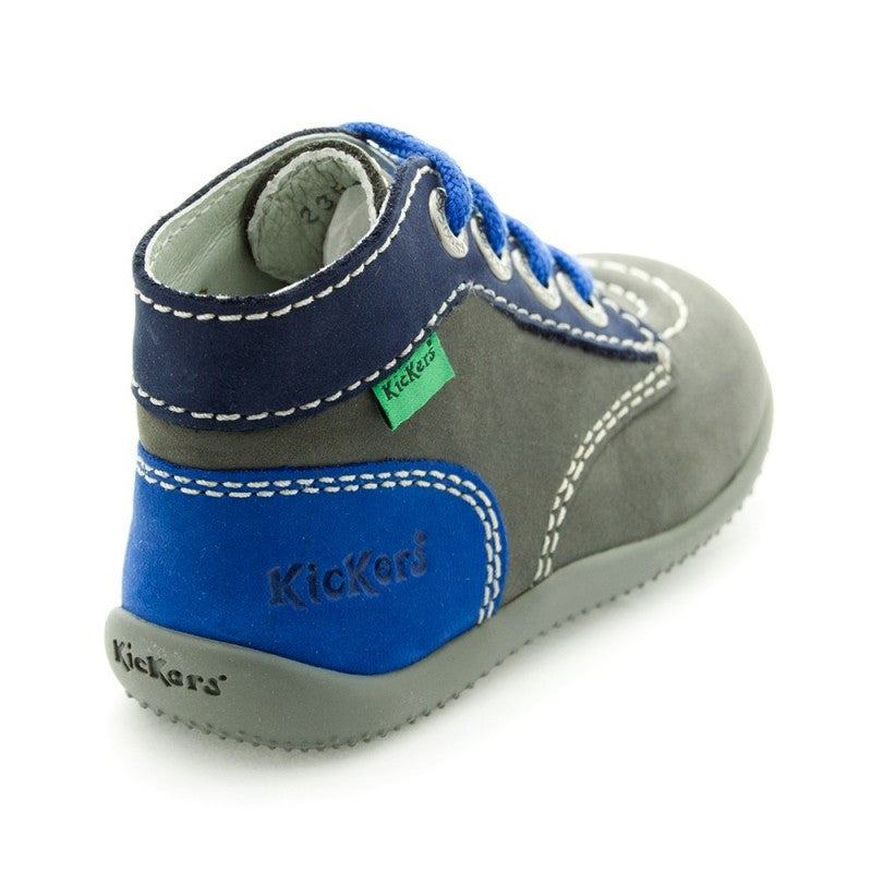 Kickers - Bonbon Blue/Grey - GABRIEL CHAUSSURES
