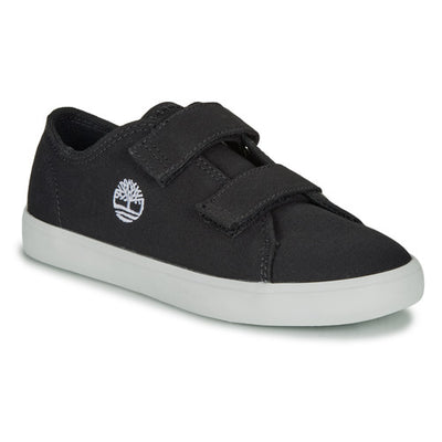 Timberland - Newport Bay Oxford Black Canvas Kid's