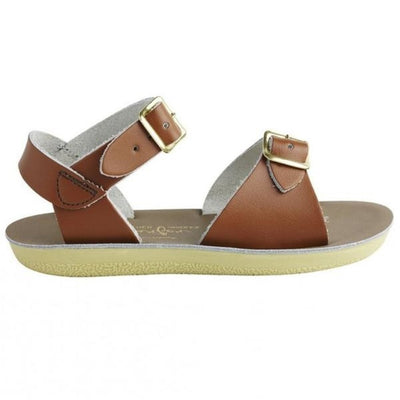 Salt Water- Kid's Surfer Tan Sandals