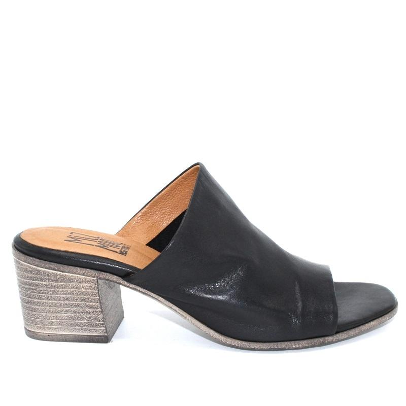 Miz Mooz -Silvie Black Leather