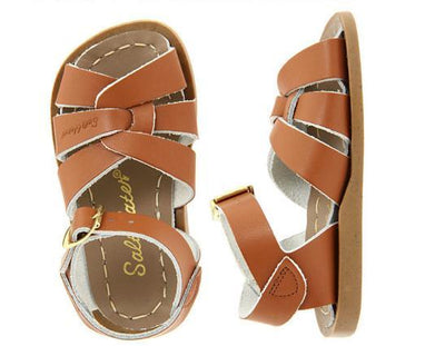 Salt Water- Kid's Original Tan Sandals