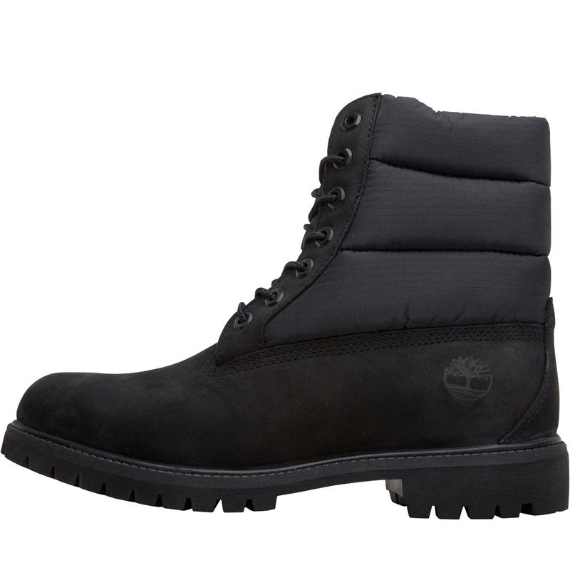 Timberland - Women's Premium 6in Warm Lined Black Boots in Black