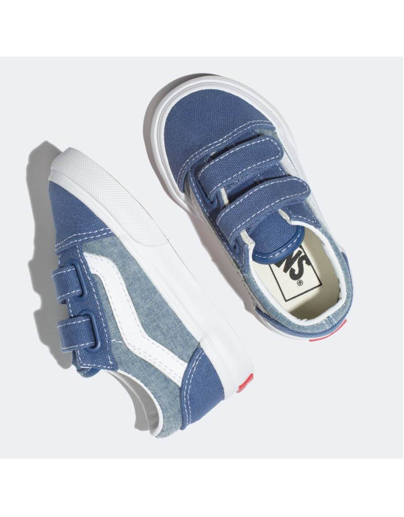 Vans - Kids Old skool Chambray Navy