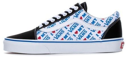 Vans - Women's Old Skool in I Heart Vans