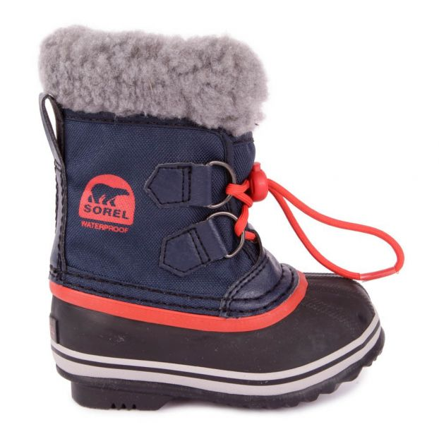 Sorel - Pac Nylon Bleu / Orange Kids