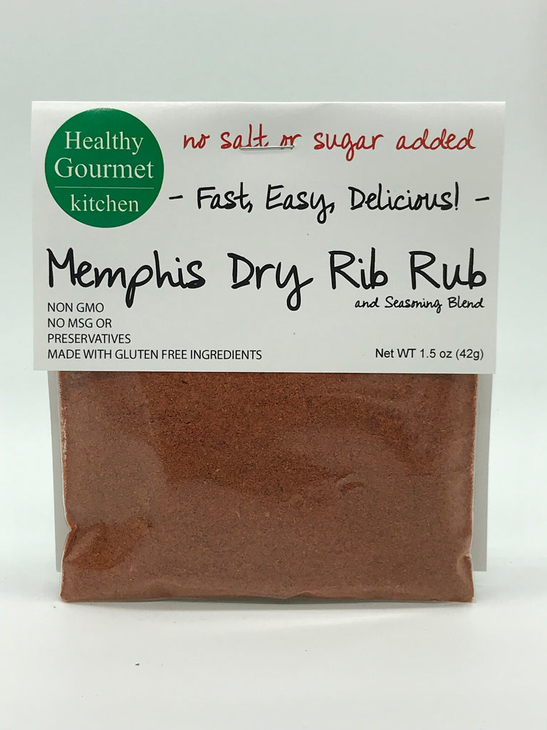 Memphis Dry Rib Rub mix for ribs