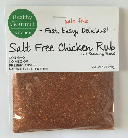 Salt Free Chicken Rub mix for chicken
