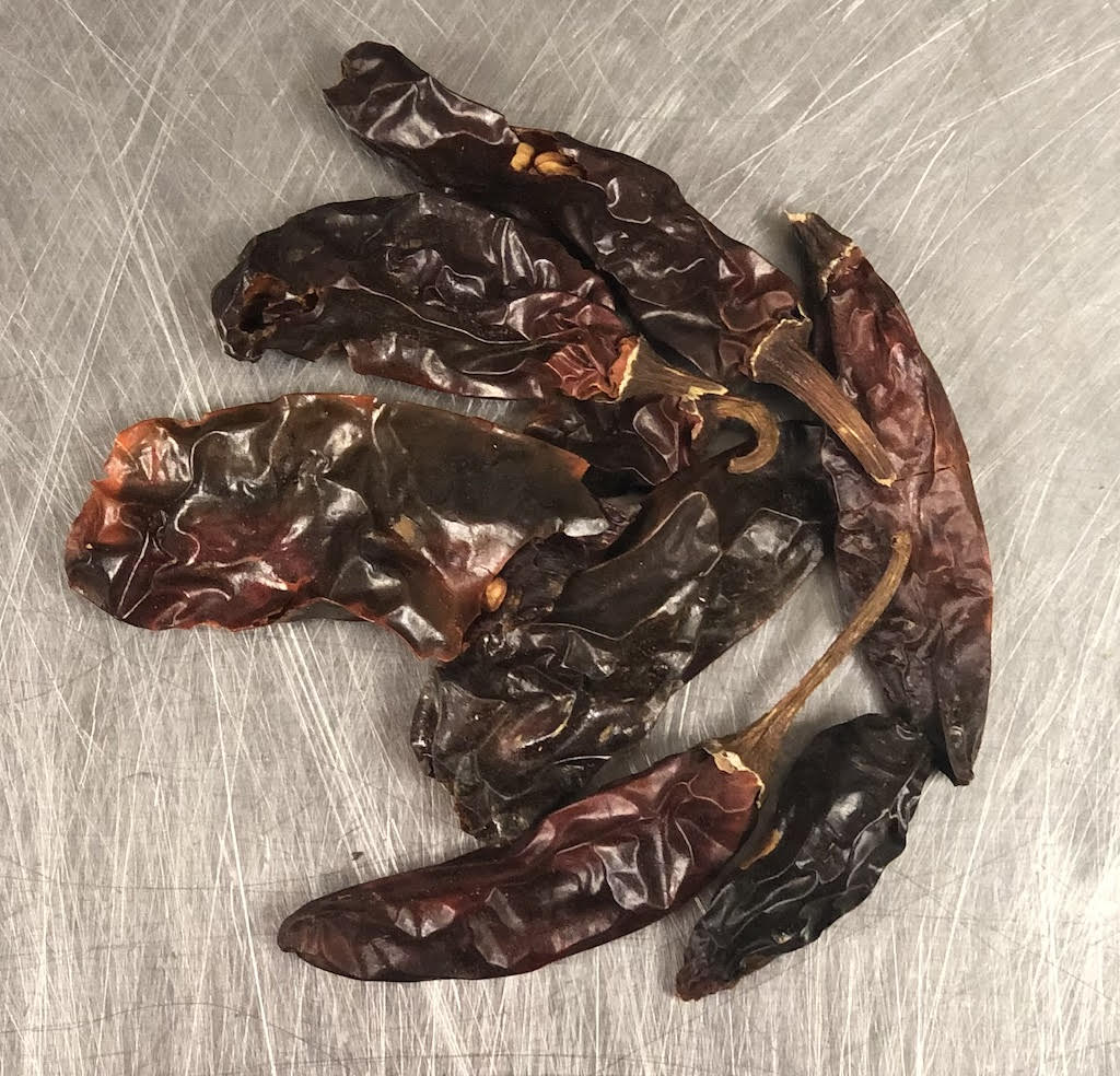 Dried Serrano Chilis