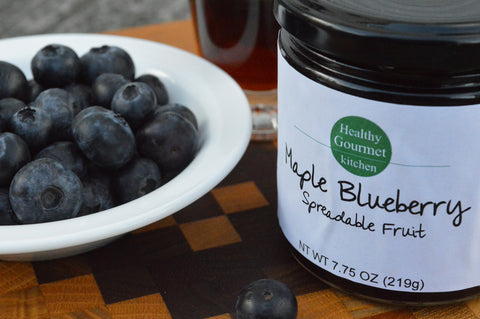 Maple Blueberry Spreadable Fruit