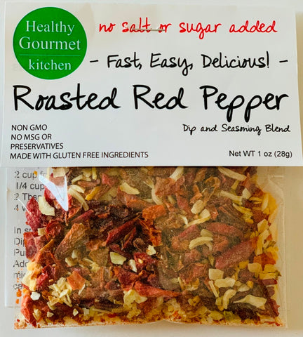 Roasted Red Bell Pepper Dip Mix