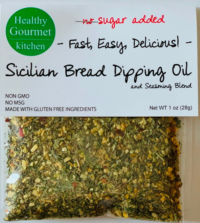 Sicilian Bread Dipping Oil Mix