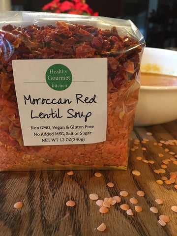 Moroccan Red Lentil Soup Mix