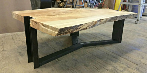 Splated Maple Coffee Table