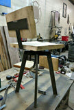 Adjustable Bar Stool With Back