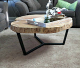 Maple Round Coffee Table
