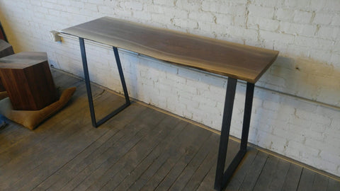 Bar Height Console Table