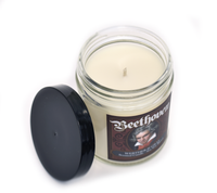 BEETHOVEN, Scented Candle, 8oz Jar - Werther & Gray Artisan