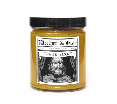 FREAK SHOW, Scented Candle, 8oz Jar